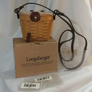Longaberger small Saddlebrook purse